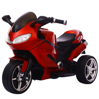Children's Electric Motorcycle Tricycle The 1 6 Year Old Baby Toy Car with Light Baby Charging Remote Control Stroller