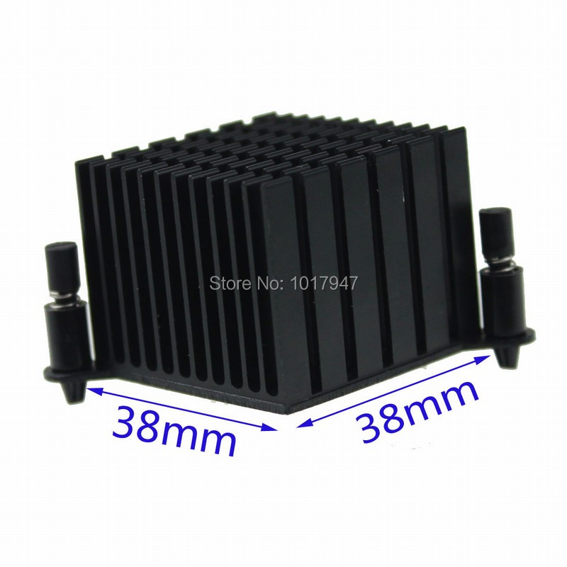 2 Pieces lot Aluminum Northbridge North Bridge Heatsink Cooling Cooler 60mm(China)