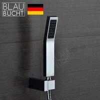 2015リアルタイム限定のシングルヘッドchuveiro ledシャワーヘッド雨シャワーblaubuc用htハンド高品質銅正方形ノズ