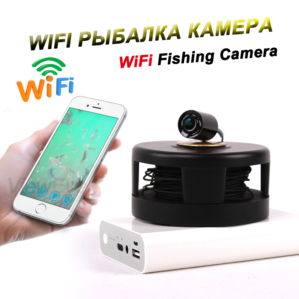 Vieweye original wifi mobile cell phone underwater visible for Phone fish finder