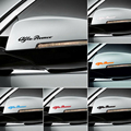 Alfa Romeo OI-TEMPERATURA DECALQUES ADESIVOS de VINIL FUNDIDO PINÇA de FREIO Logotipo do carro emblema emblema autocolante para Mito 147 156 159 166