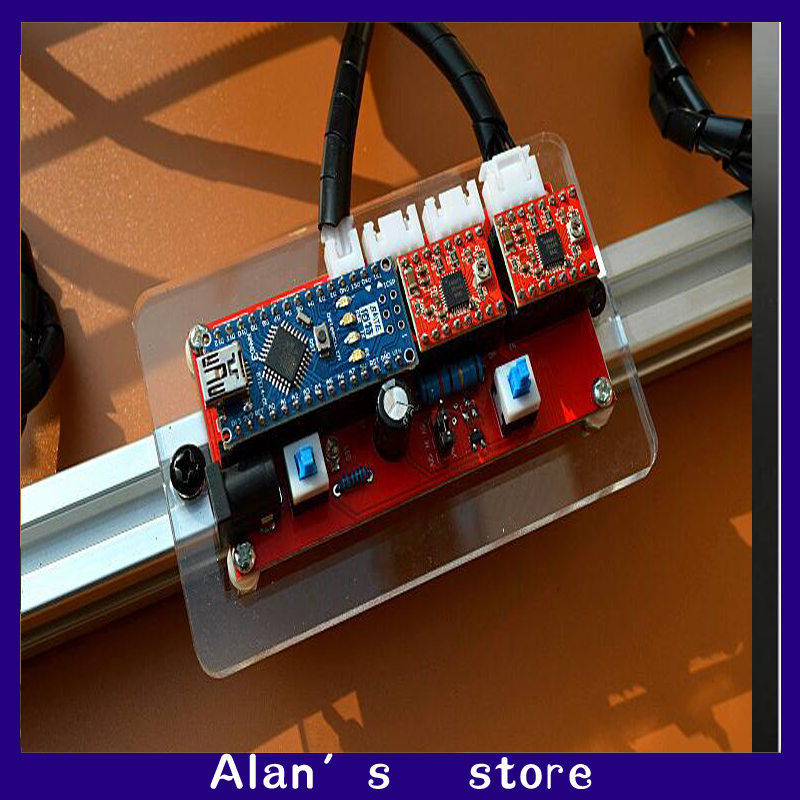 diy laser engraving machine, benbox laser machine 2 axis stepper motor drive control circuit board free delivery laser cnc