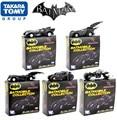 """5 unids/lote Alta calidad de The Dark Knight Batman Batmobile Tumbler Metal de Colección Modelo de Juguete 7 cm/2.8 """"Negro coche de Juguete de Regalo"""