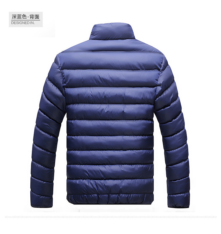 Winter Jacket Men 2019 Fashion Stand Collar Male Parka Jacket Mens Solid Thick Jackets and Coats Man Winter Parkas M-6XL 25