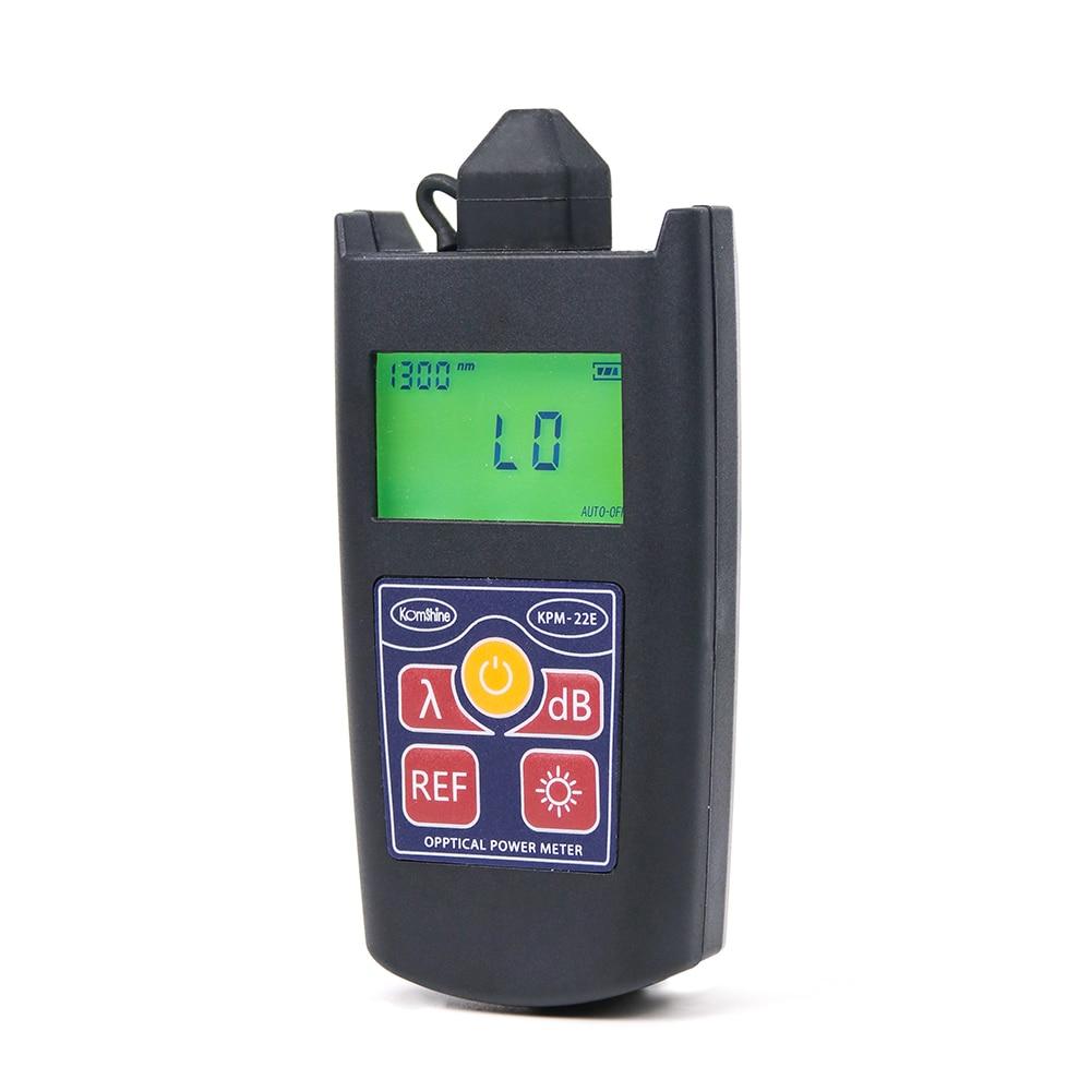 Image 4 - Komshine Newest update KPM 22E optical fiber loss test tool Pocketsize optical power meter Wattmetres-in Fiber Optic Equipments from Cellphones & Telecommunications