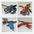Night Fury toothless dragon toy How to Train Your Dragons Season 2 High Quality PVC Action Figures Night Fury
