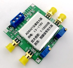 AD8421 Amplifier Module Instrumentation Amplifier Millivolt Microvolts Small Signal with Shielding Box