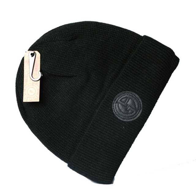 Male spring warm beanie cold spring outdoor thermal hat thick cotton female fashion spring caps knit cotton skullies