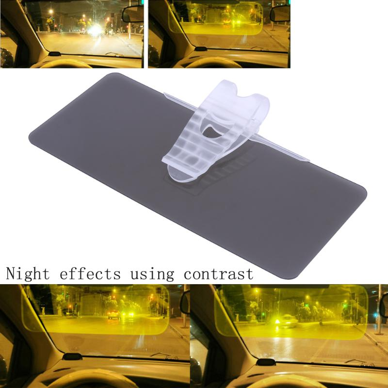 HD Car Sun Visor Car Interior Day Night Use Dazzle UV Resistant Sunvisor Replacement Tool HD Clear View Visor New High Quality