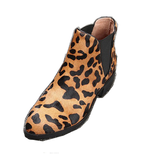 [Dai Yun] 2017 Spring Autumn fashion new pattern pointed toe  flat bottom with low heel short boots women V870 dai shi han