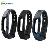 HANGRUI Xiaomi Mi Band 1s Bracelet Colorful Miband Strap Replacement Smart Band Accessories For Xiao Mi Band 1s /1A Wristband