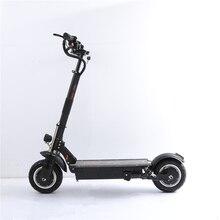 UBGO 1005 + Вакуумный шиномонтажный двигатель 60 В в В/52 в двойной привод 2000 Вт мощный Электрический скутер 10 дюймов E-scooter с масляным тормозом