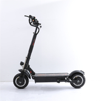 UBGO 1005+ Vacuum Tire Motor 60V/52V Double Drive Powerful Electric Scooter 10inch E Scooter