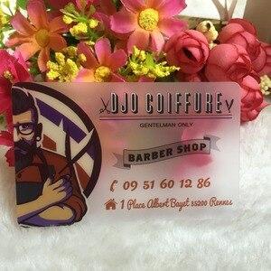 Image 1 - Aangepaste transparante PVC visitekaartjes bezoek card business card printing, clear frosted visitekaartjes