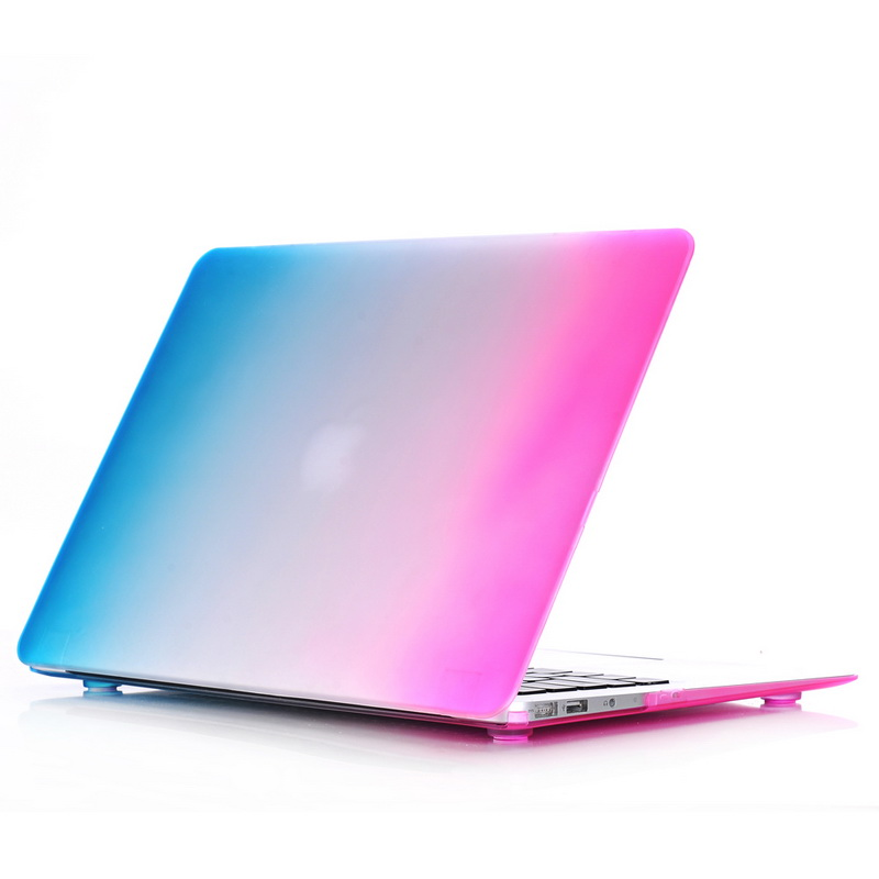 Fashion Shell for Macbook Air 11 Case,Matte Rubber Hard Rainbow Laptop Cover for Apple Macbook Air 11- A1370/ A1465 11.6 inch organic people скраб для ног для мягкости кожи 75 мл