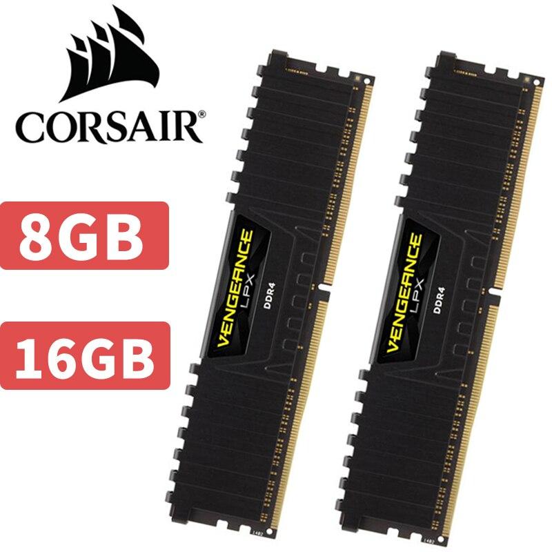 CORSAIR Rache LPX HOCHLEISTUNGS-GPS-CHIPSATZ 8 gb 16 gb DDR4 PC4 2400 mhz 3000 mhz 3200 mhz Modul Desktop-speicher ram DIMM 8g 16g