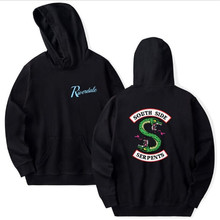 Riverdale Hoodie Sweatshirts Plus Size South Side Serpents Streetwear Tops Autumn Hoodies Men Women Hooded Pullover Tracksuit