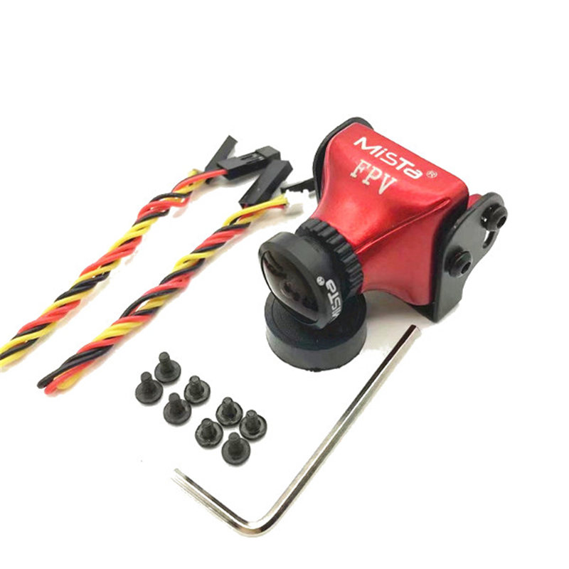 Upgraded Mista 800tvl Ccd 2.1mm Wide Angle Hd 1080p 16:9 Osd Fpv Camera Pal/ntsc Switchable For Rc Quadcopter Model Drone #3