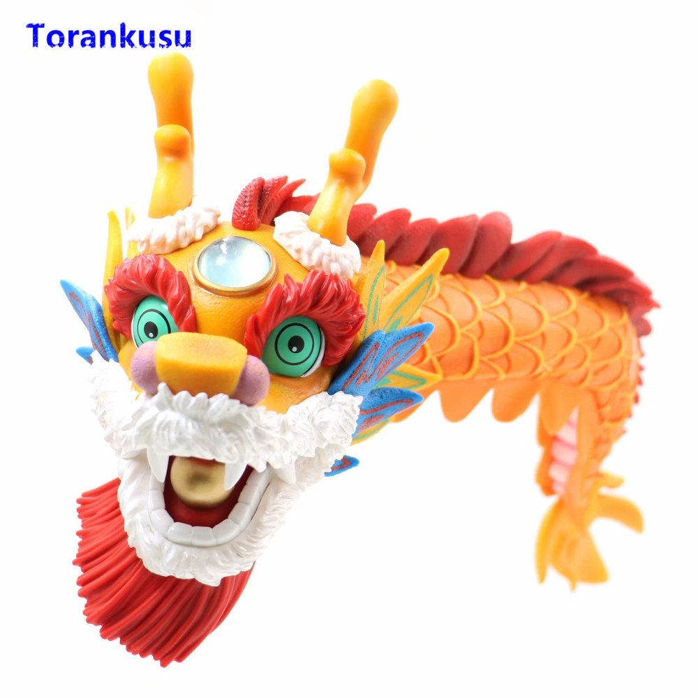 Toys & Hobbies The Cheapest Price 9.84one Piece New Year Festival Play The Violin Brook New Year Dragon Dance Pvc Action Figure Model Toys Boxed 25cm N697