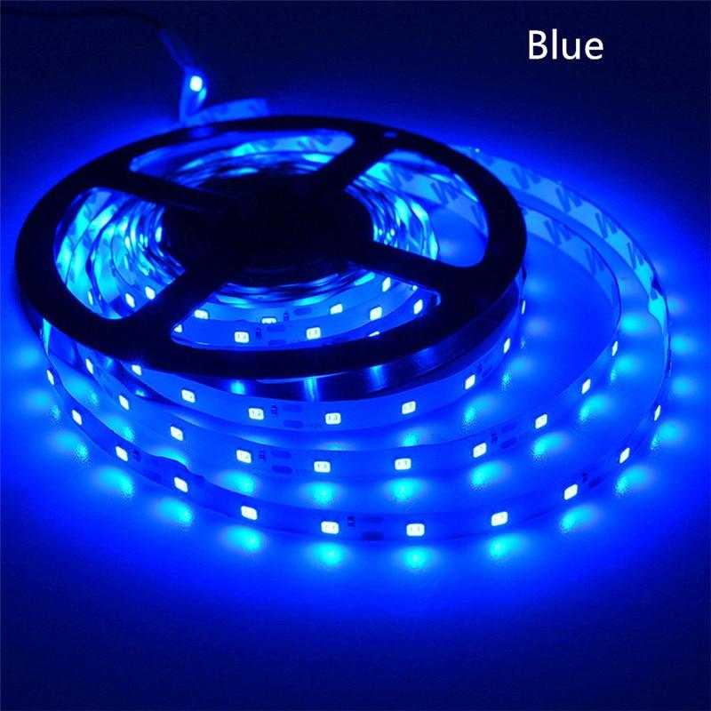 5 M/Roll tira conduzida 2835 Fluxo Luminoso Mais Elevado do que o Velho 3528 5630 5050 SMD LED luz de Tira 60 LEDs/M 12 V lâmpada Corda Decoração