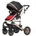 Luz cochecito de bebé bb coche de bebé plegable amortiguadores carro