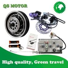 QS273 8000 W 72 V V3 14 дюймов электродвигатель мотоцикла преобразования Наборы
