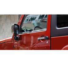 Stainless Steel Car Styling Windows Lower Stickers Suitable for Jeep Wrangler 07-13 two/four Door Car Accessories