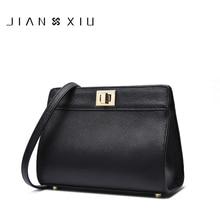 JIANXIU Brand Women Messenger Bags High Quality Genuine Leather Shoulder Crossbody Bag 2017 New Fashion Carteras Mujer De Hombro