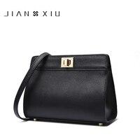 JIANXIU Brand Women Messenger Bags High Quality Genuine Leather Shoulder Crossbody Bag 2017 New Fashion Carteras