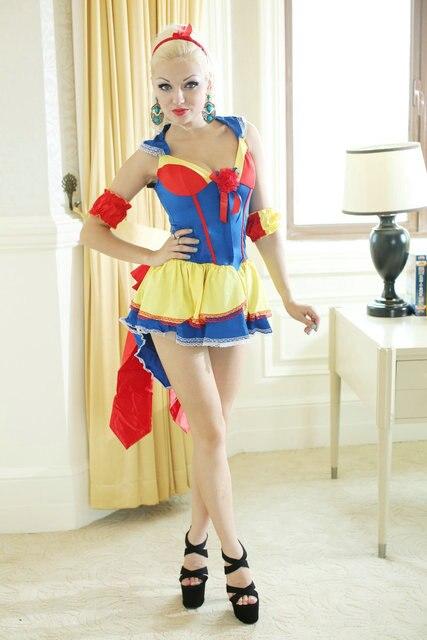 942c1a8e55be80 Nouvelle princesse blanche neige costume femmes adulte cosplay robe  halloween reine des coeurs costumes pour conte de fées sexy fantaisie