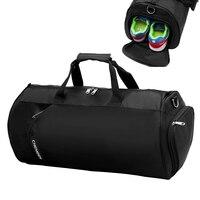 Outdoor Fitness Gym Sports Bag With Shoes Compartment Handbag Shoulder Bag For Women Men Yoga Duffel
