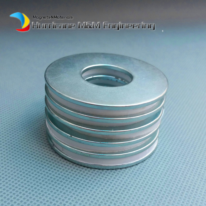 1 Pack N35SH NdFeB Magnet Ring OD 49x20x2 mm Diameter 1.93'' Strong Magnets Axially Magnetized NiCuNi Coated Rare Earth Magnet 1 pack grade n38 ndfeb micro ring diameter od 9 5x4x0 95 mm 0 37 strong axially magnetized nicuni coated rare earth magnet