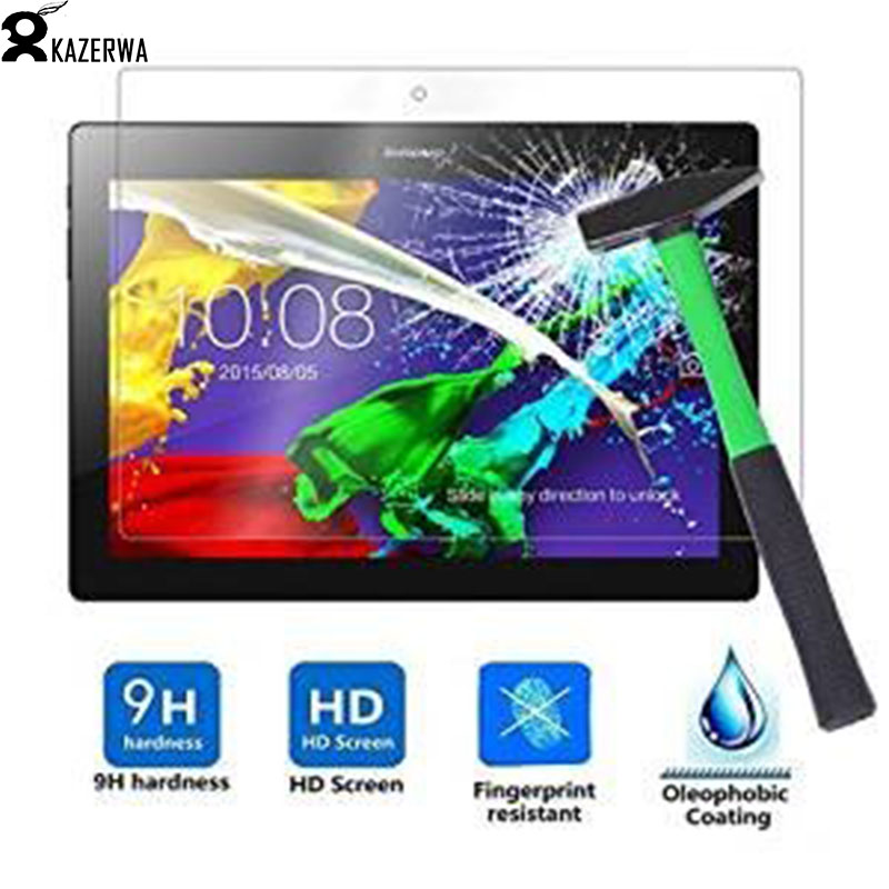 Tempered Glass For Lenovo Tab2 A10-70 A10-70F A10-70L A10-30 10.1 Screen Protector for Tab 2 10-30F X30F Protective film Glass tempered glass 2 5d screen protector for lenovo k5 note transparent