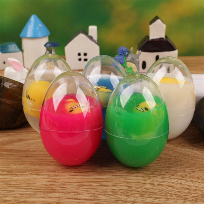 5pcs lot simulation spoof tricky toy nausea eggs Pinch Decompression Toy Novelty Gag Practical Jokes