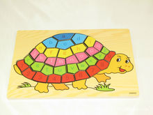 Free shipping,wooden toys,digital puzzle,animal makeup,children's early education puzzle,montessori teaching AIDS, the tortoise flyingtown montessori teaching aids balance scale baby balance game early education wooden puzzle children toys
