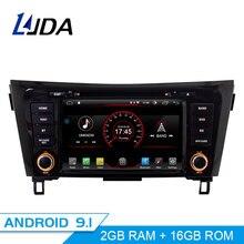 LJDA Android 9,1 автомобильный радиоприемник для NISSAN Qashqai X-Trail 2014-2018 Автомобильный мультимедийный плеер gps Навигация DVD плеер Автомобильный WiFi