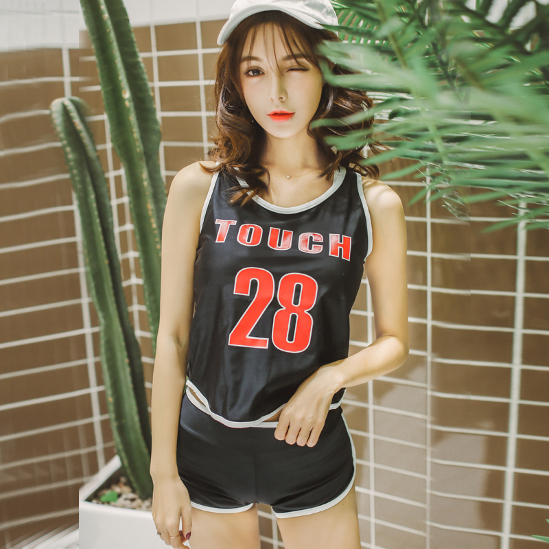 High quality 3 Pieces Solid Letter sexy Sport Women Bikini Swimwear Backless Black Swimsuit Summer Beach Hot Girl Bathing Suit high quality hot red top neck sexy women bikini swimwear high waist surfing sport girl swimsuit solid rope bandage bathing suit