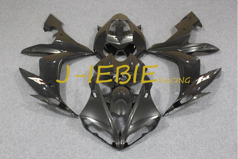 Black white Injection Fairing Body Work Frame Kit for Yamaha YZF 1000 R1 2004 2005 2006