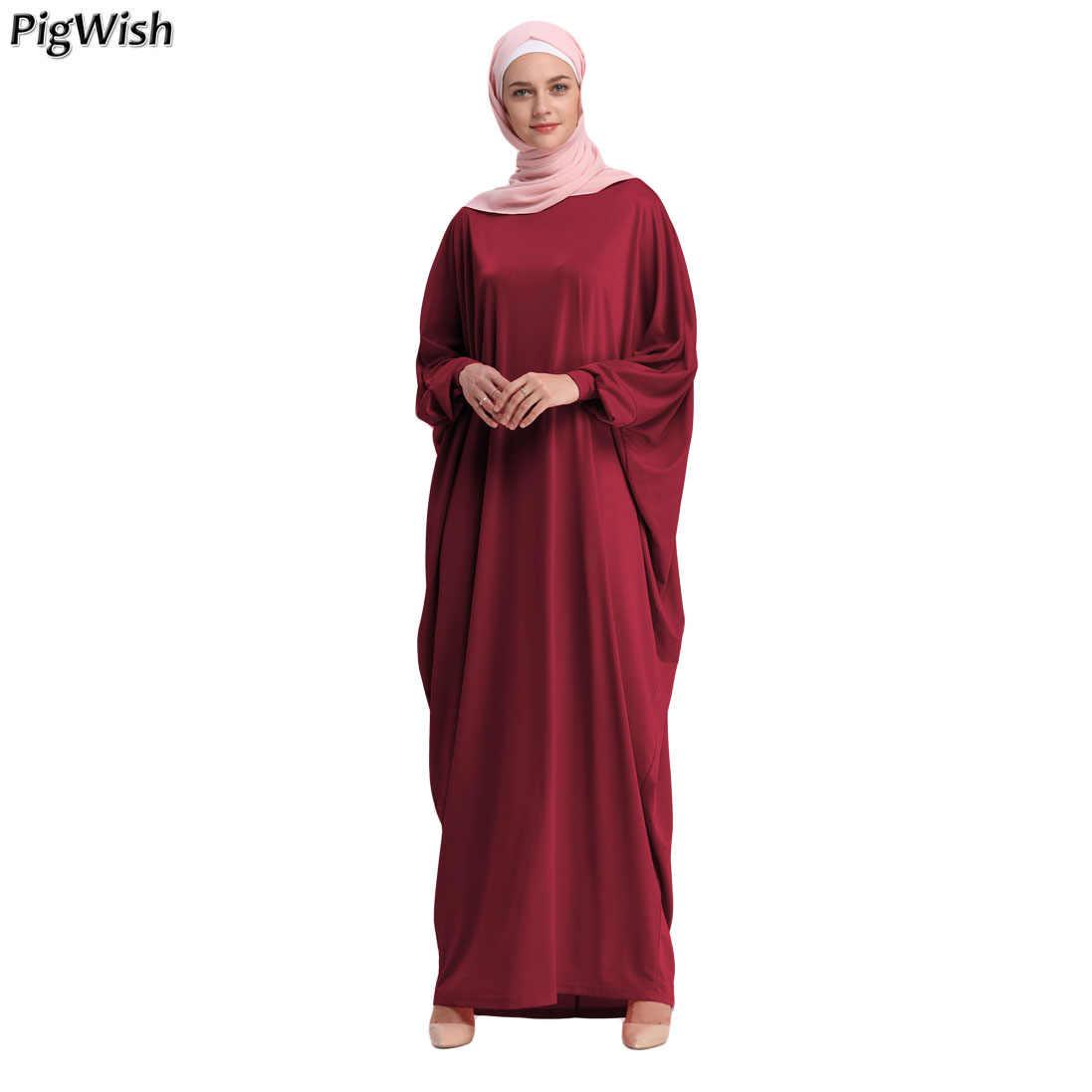 Kaftan Abaya Dubai Arabic Islam Turkey Long Muslim Hijab