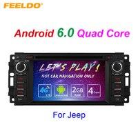 FEELDO 7 Android 6.0 (64bit) DDR3 2G/16G/4G LTE Car DVD GPS Radio For Toyota Universal 2DIN RAV4/Corolla/HILUX