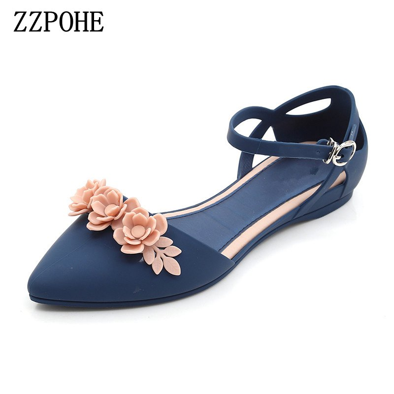 ZZPOHE Summer Fashion Sandals Woman soft large size Flip Flops sandals casual comfortable women's sandals free shipping 2016 summer diamond woman sandals casual flat thong flip flops fashion beads wild sandals white black st338
