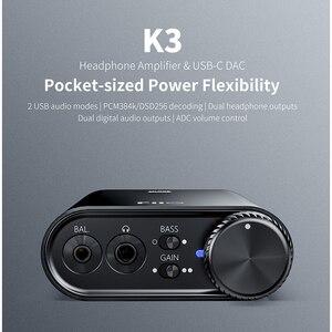 Image 2 - FiiO K3 Amplificatore Per Cuffie Portatile DSD DAC USB per PC, Supporto COASSIALE/OTTICA/EQUILIBRIO di 2.5