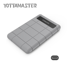 YottaMaster Sata to USB3.1 hard disk Box Type-c HDD Enclosure For Notebook PC HDD Caddy Tool Free 2.5 External HDD Case (E25C3)