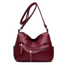 2019 New luxury handbags women shoulder bag large tote bags hobo soft Genuine leather ladies crossbody messenger bag for women цена в Москве и Питере