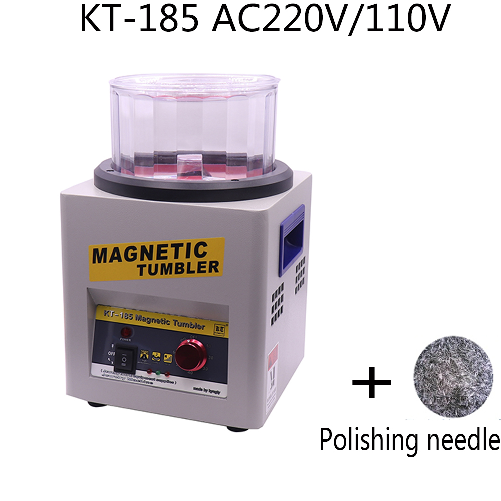 Radient Free Shipping Kd 220 By Scientific Process Magnetic Polishing Machine Ac 110v Kt-185 Magnetic Tumbler Jewelry Polishing Machine Finishing Machine