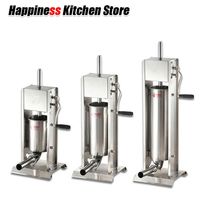 Kitchen Tools 3L/5L/7L Sausage Filler Meat Filling Machine Manual Stuffer Commercial and Homeuse Sausage Funnel