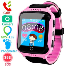 CYKE Q528 GPS Smart Watch With Camera Flashlight Baby Watch SOS Call Location Device Tracker for Kid Safe VS Q100 Q90 Q60 Q50(China)