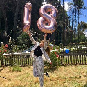 Image 4 - 2 adet 40 inç mutlu 18 doğum günü folyo balonlar gül altın/pembe/mavi sayı 18th yaşında parti süslemeleri erkek çocuk kız malzemeleri