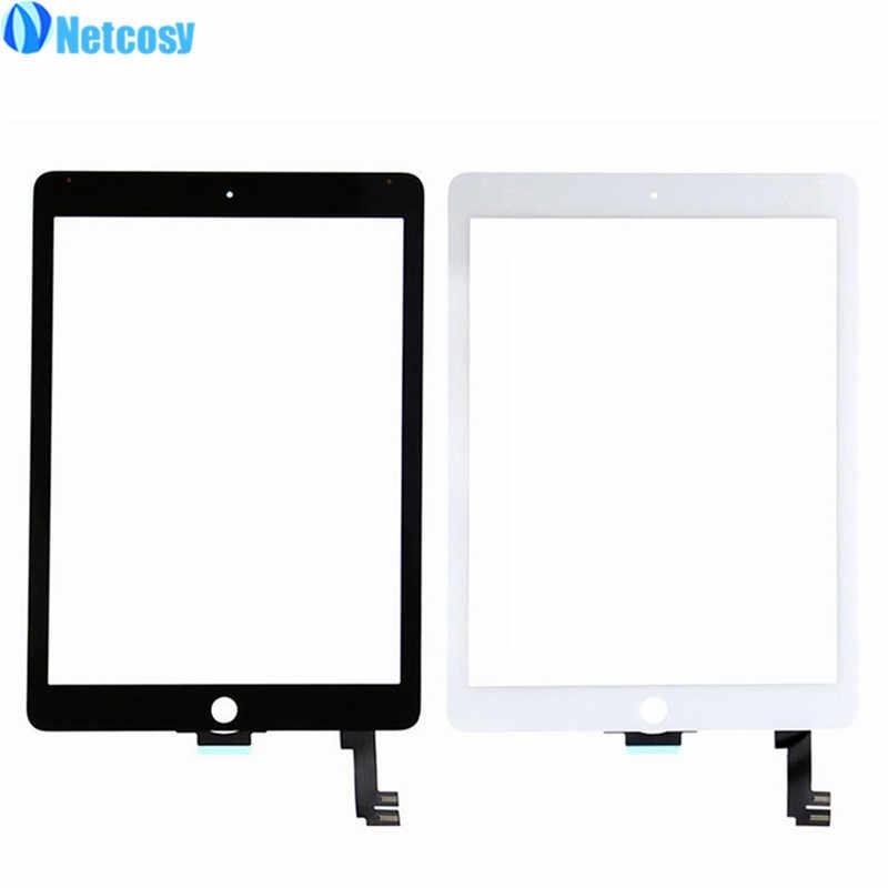 A1566 A1567 digitalizador de pantalla táctil de cristal de la lente Sensor de piezas de reparación para ipad aire 2 air2 A1567 A1566 Tablet Panel táctil
