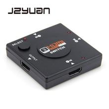 3 Port HDMI Splitter Switcher 1x3 Mini Input 1 Output for HDTV 1080P Video DV hdmi kvm switches